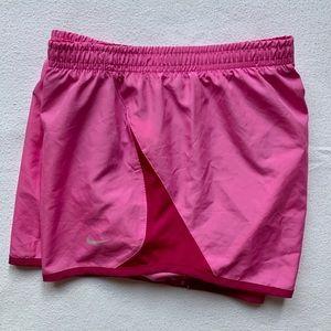 Nike Tempo Running Shorts Pink Size Medium